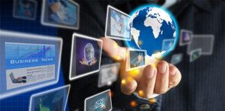 Poprzez Internet na obce rynki